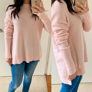 Lou & Grey Pink Tunic Sweater